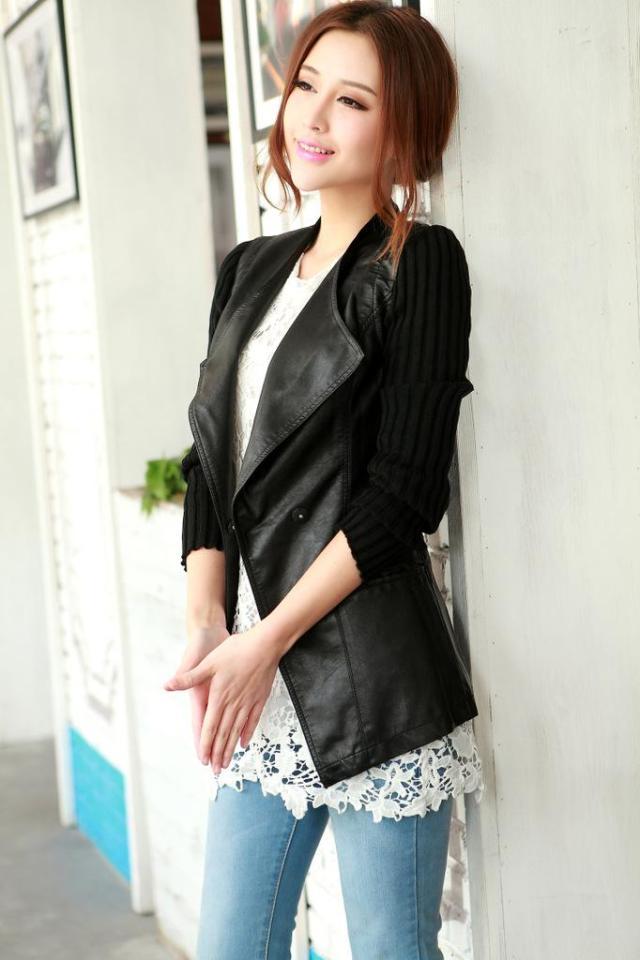 faux jacket