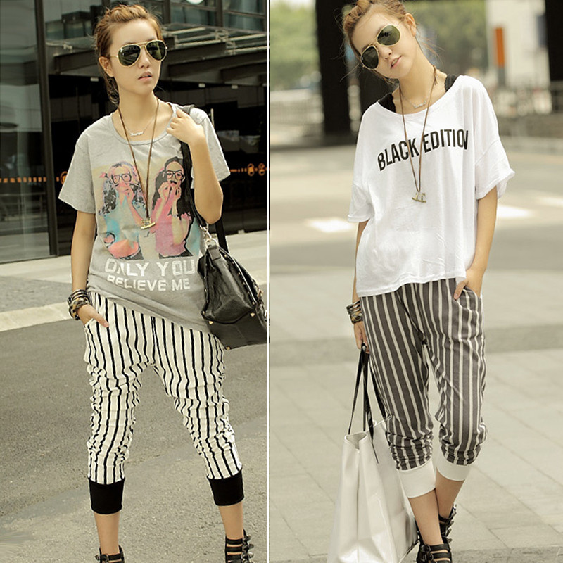 Korean Street Summer Wear Women Style U